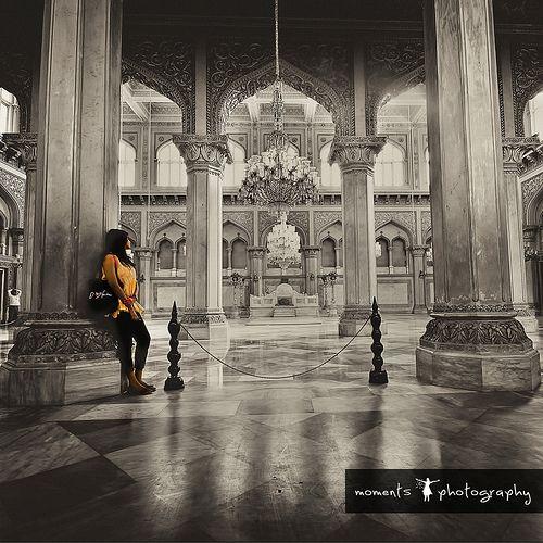Chowmahalla Palace or Chowmahallat (4 Palaces). Hyderabad, Andhra Pradesh, India
