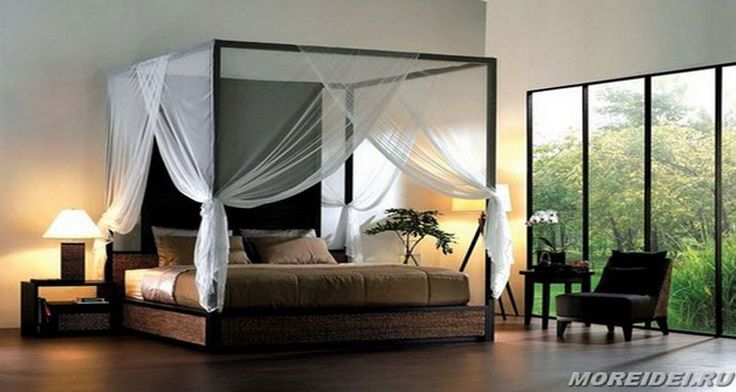 Спальня с балдахином, выглядит шикарно и привлекает к себе много внимания. Спальня с балдахином является прекрасным вариантом классического оформления