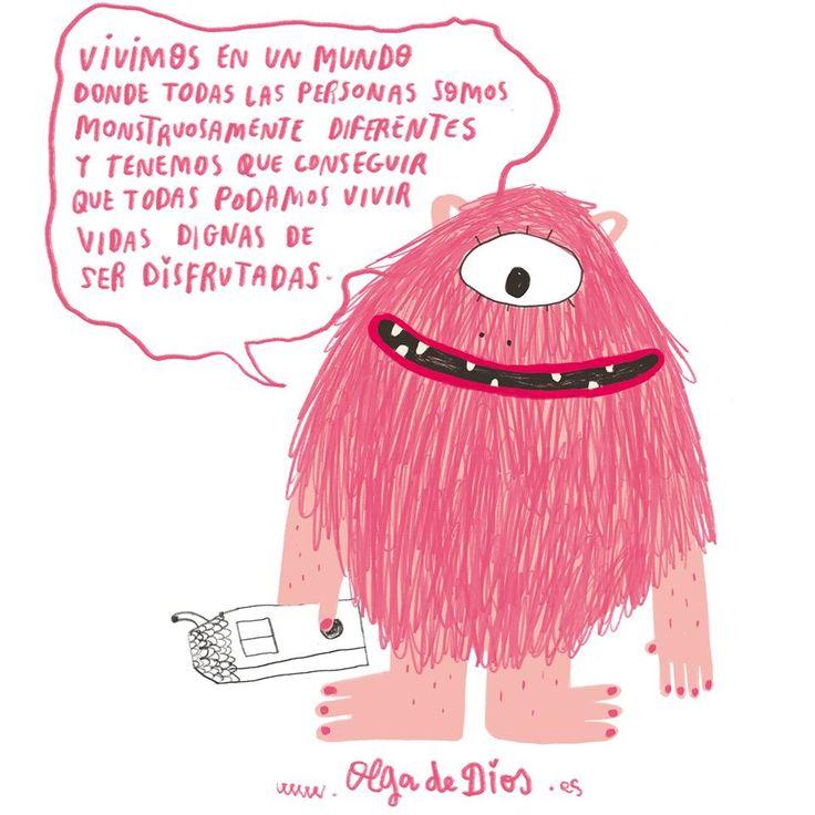 Ilustración de Olga de Dios