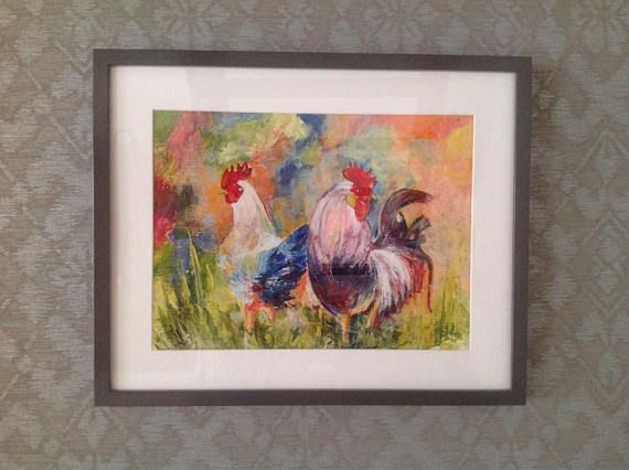 Chicken and Rooster 1