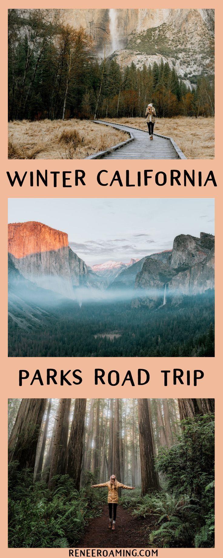 Viagem por estrada no inverno na Califórnia – sequóias e Yosemite   – Future travels