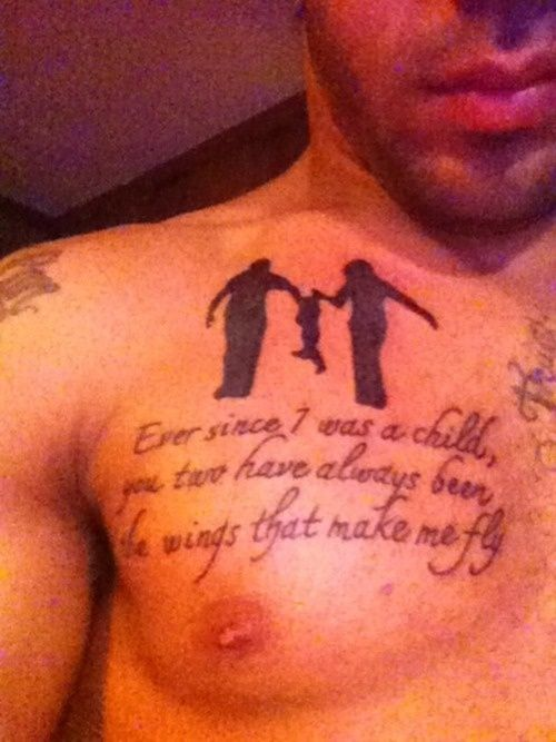 AWE!!!  tattoo quotes about family