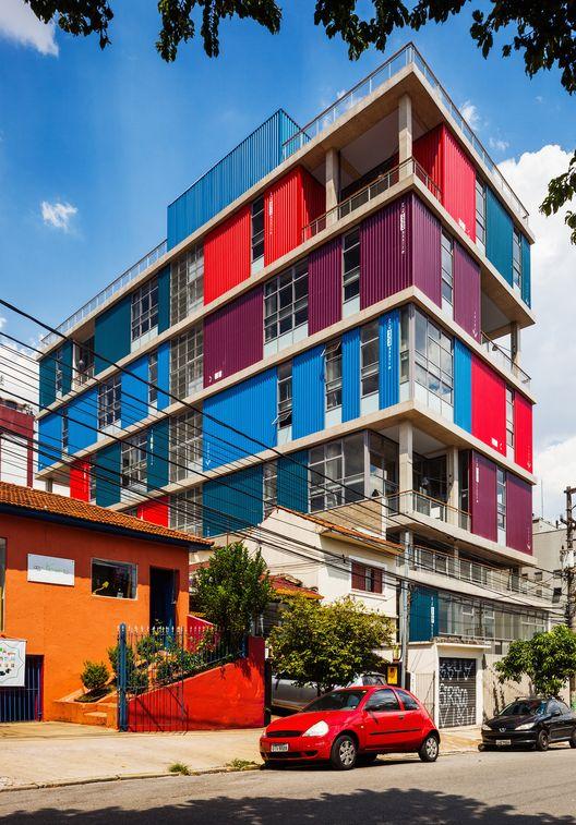 Edifício BOX 298 / Andrade Morettin Arquitetos Associados (Vila Madalena, São Paulo, Brasil) #architecture