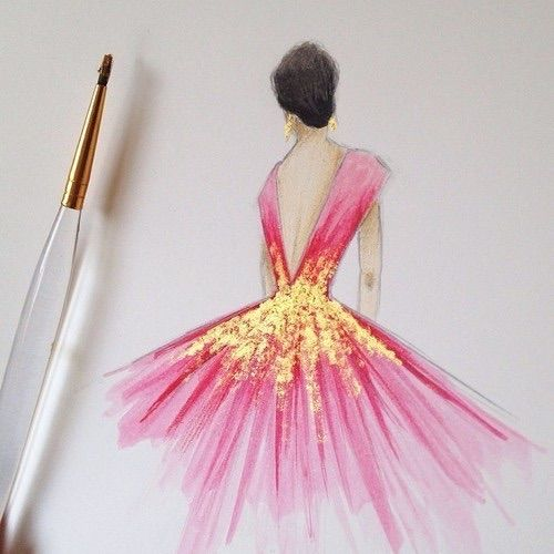 Bild ber we heart it art back beautiful cute design for Pretty designs to paint