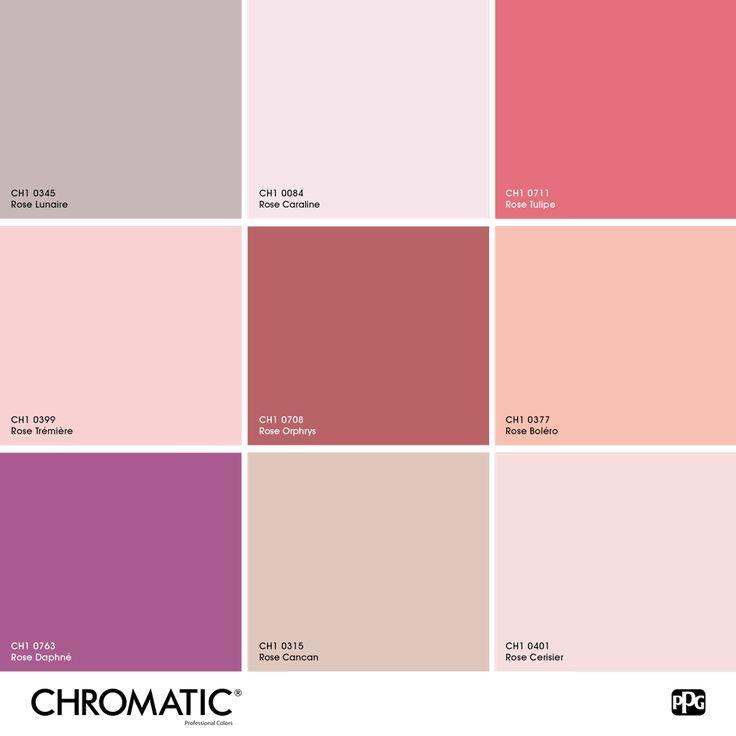 70 best un mois une ambiance images on pinterest - Couleur complementaire du rose ...