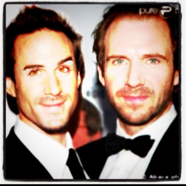 The Fiennes brothers a...