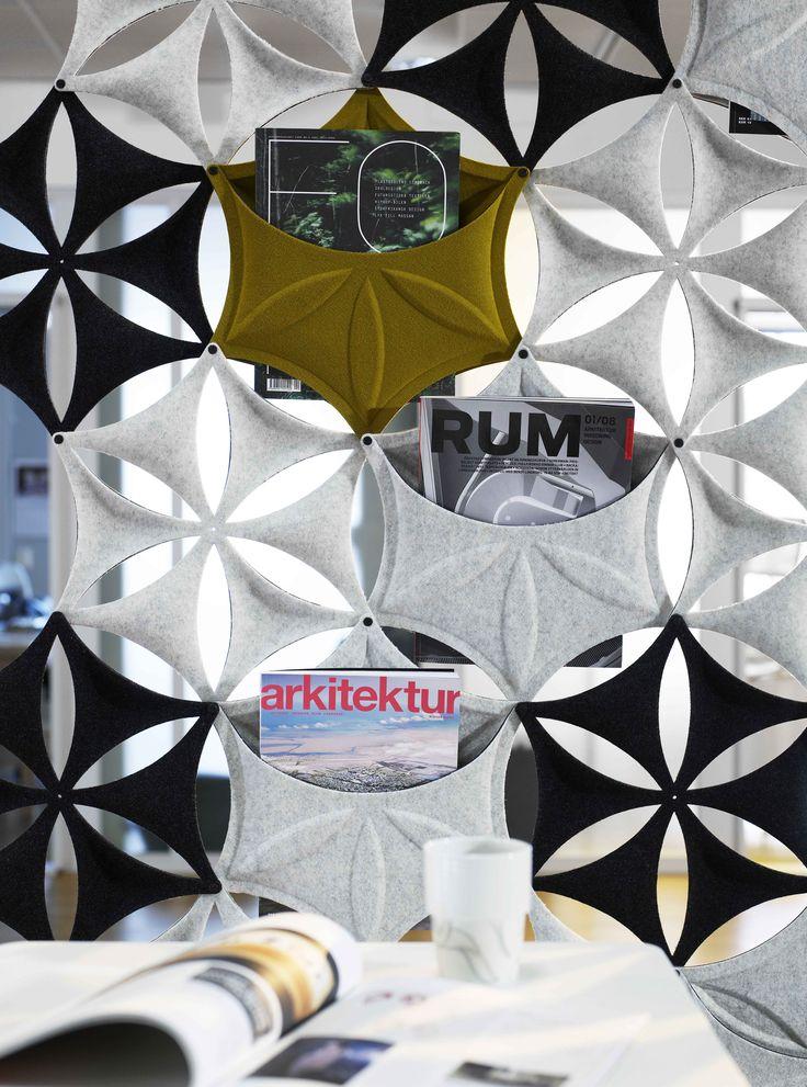 Airflake Soundabsorbing Ceiling Panels
