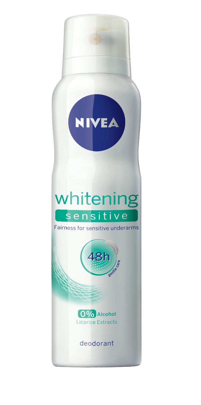 Diva Journals: PR:Nivea Whitening Sensitive Deodrant for Women