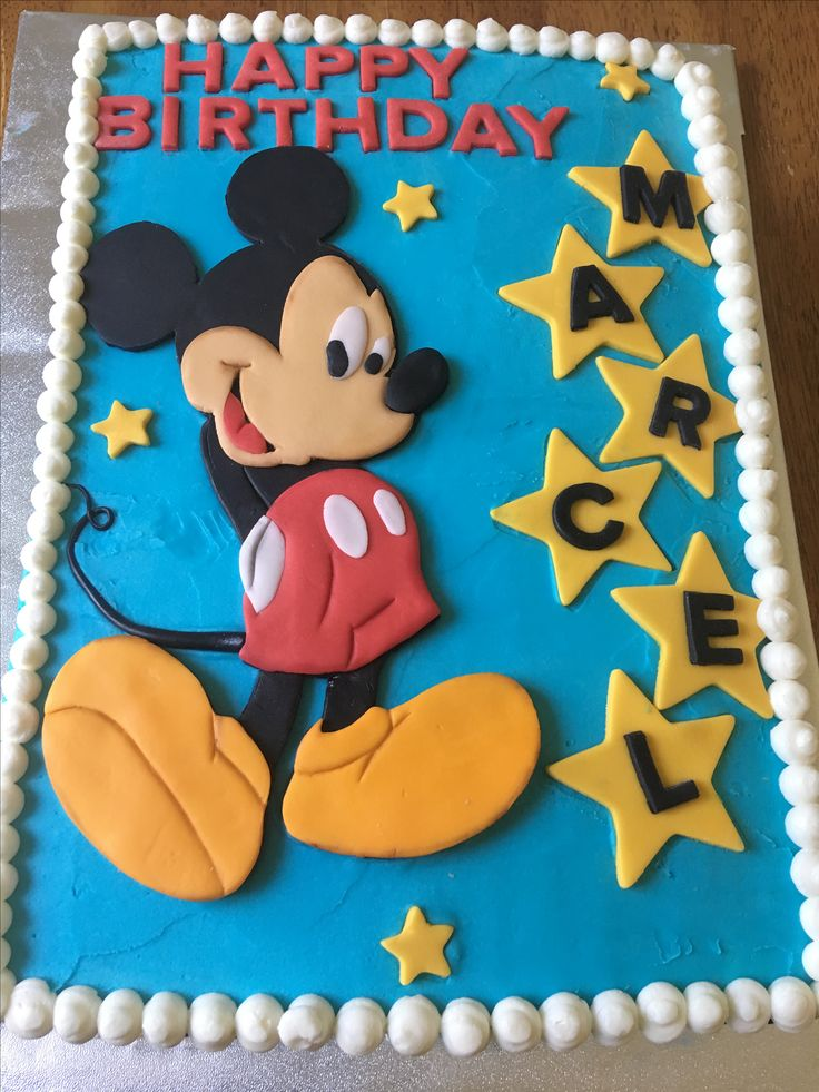 Mickey cake by Cakes of Dreams