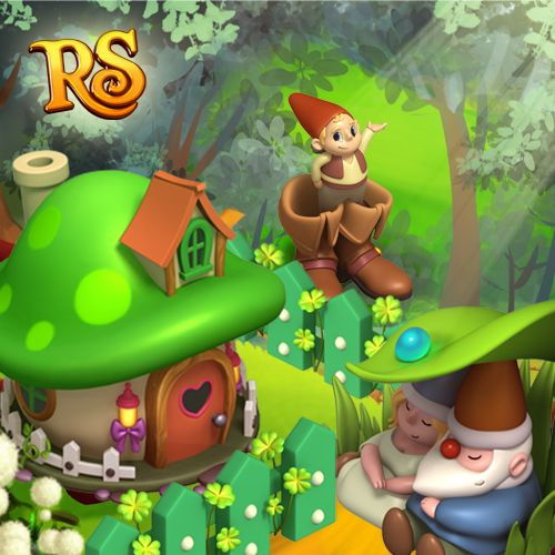 A little bearded man, wearing a coat and hat... It must be a Leprechaun! #royalstorygame #stpatricksday