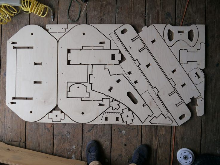 The PlyFly is the work of The FlatWorks, a wooden kit company, and comes in two...