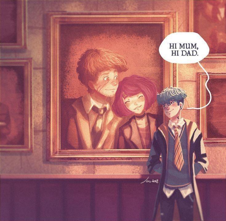Hp And Fb Trash Harry Potter Fan Art Teddy Lupin Harry Potter