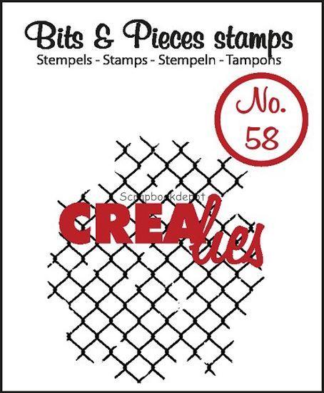 Crealies Clear Stamp - Thin Mesh