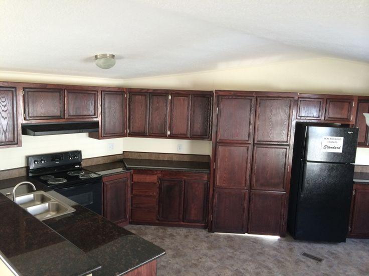 Real Granite Countertops : Real wood cabinets and granite countertops Solitaire ACK384 ...