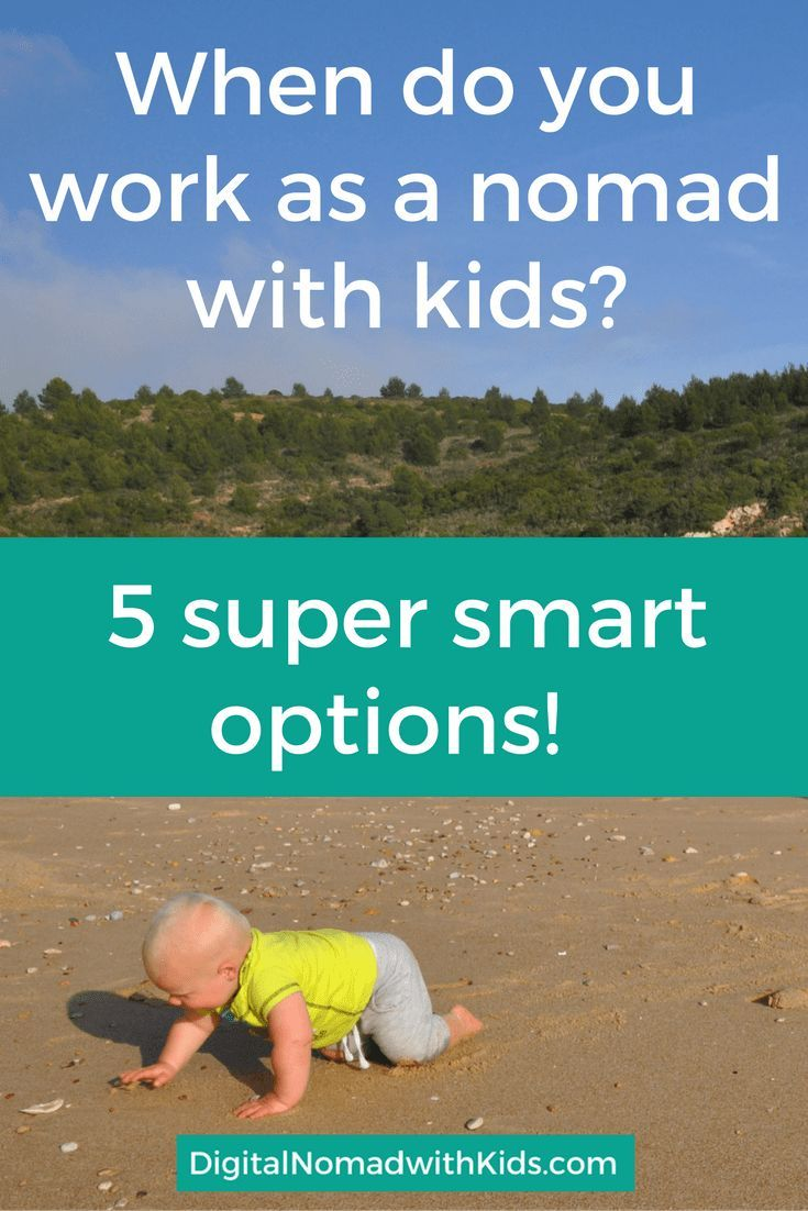 5 smart ways to combine work and travel as a digital nomad family