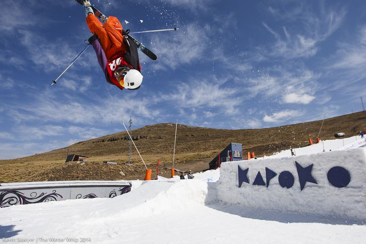 Lots of action at the Winterwhip at Afriski.