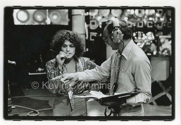 Here's a photo I took of Marc Bolan on the set of the Marc show at Granada TV, a few weeks before he died via @KCMANC on Twitter