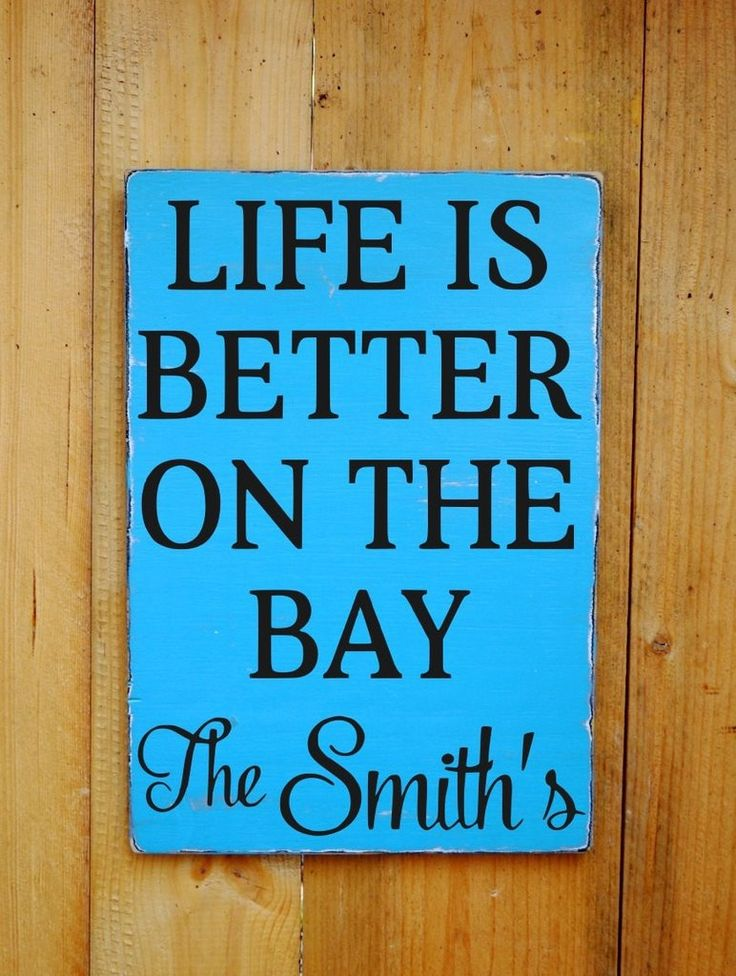 Best Hand Crafted Signs Images On Pinterest Beach Signs - Beach house name ideas