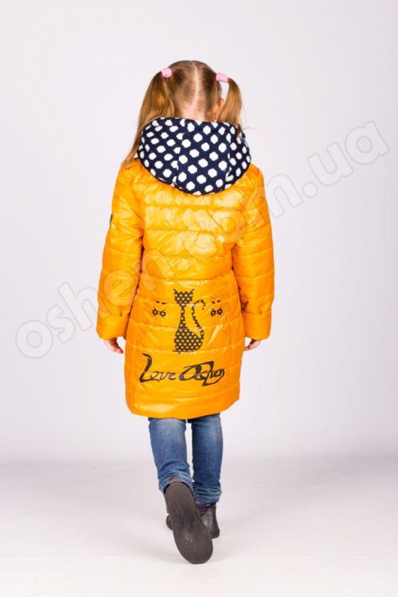 """Демисезонная куртка на  девочку """"Кэт"""""""