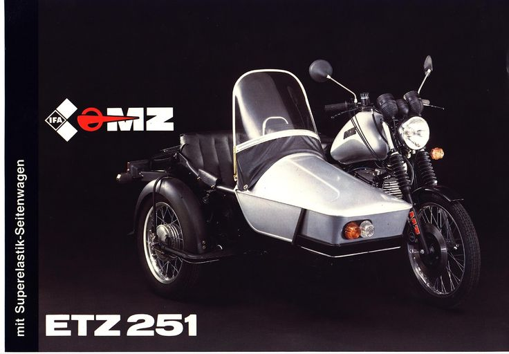 mz etz 251 motorcycle