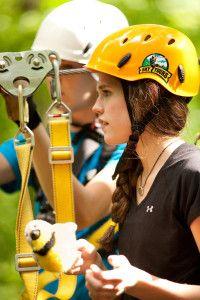 Sky Tours Zipline in Dubuque has the three highest, fastest and longest ziplines in Iowa.