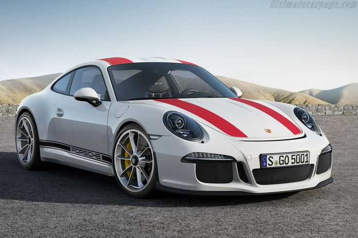 2016 Porsche 911 R Stonking car, but would prefer it without the stripes