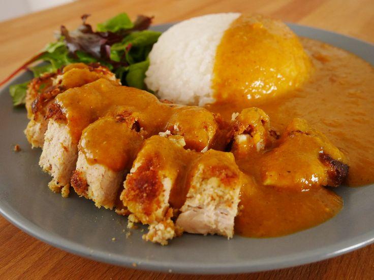 Healthy Wagamama Katsu Curry | #nochainmoregain http://blog.tabl.com/healthy-wagamama-katsu-curry-recipe/?utm_campaign=coschedule&utm_source=pinterest&utm_medium=tabl.com&utm_content=Healthy%20Wagamama%20Katsu%20Curry%20%7C%20%23nochainmoregain