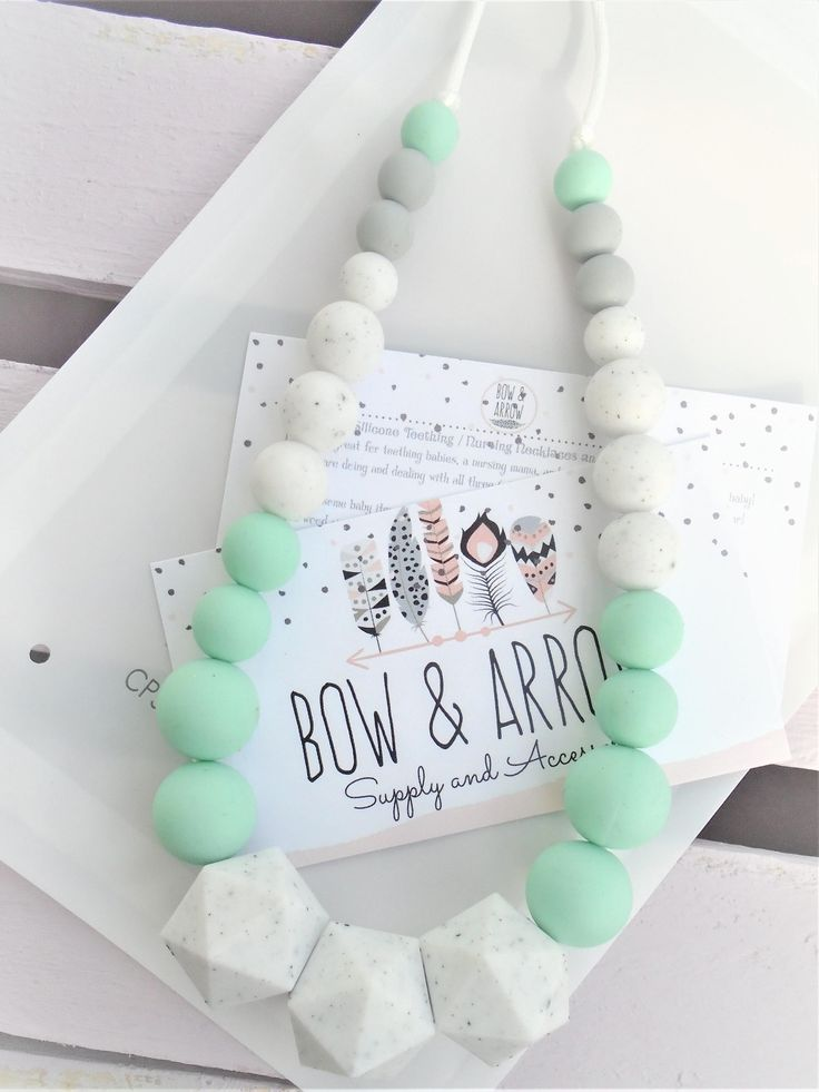15% OFF Teething Necklace, Silicone Beads, Silicone Teething, Tula Accessory, Teether, Baby, DIY Teether, baby wrap carrier, https://www.bowandarrowaccessory.com/