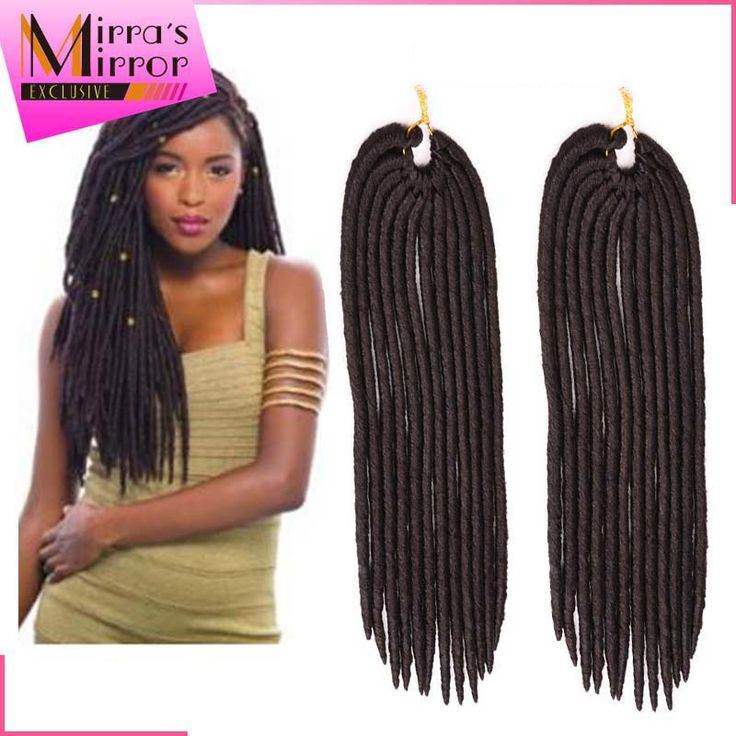 Crochet Hair Uk : crochet 14 18 synthetic faux locs crochet braids dreadlock braids...