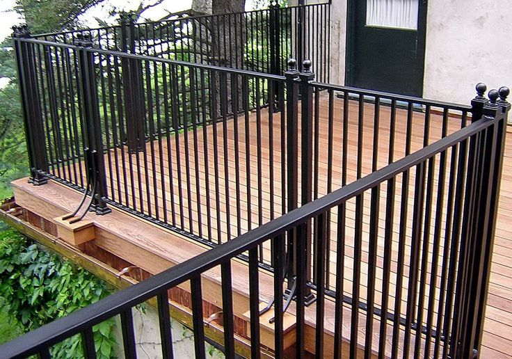 14 best deck railings images on pinterest deck railings for Balcony steel railing designs pictures