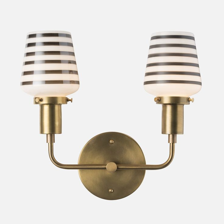 Double Abrams Sconce