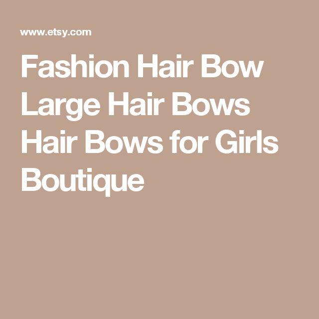 Fashion Hair Bow Large Hair Bows Hair Bows for Girls Boutique
