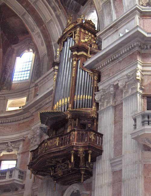 Órgão da Basílica do Palácio Nacional de Mafra, Epístola, Portugal