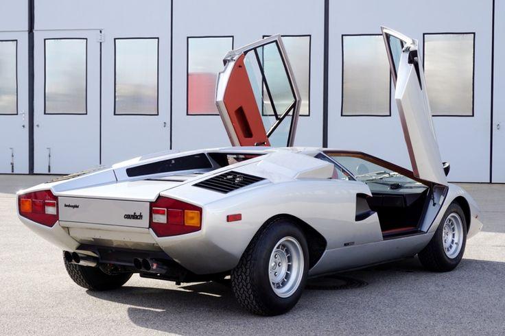 Lamborghini Countach Lp 400 Periscopio Car Pinterest