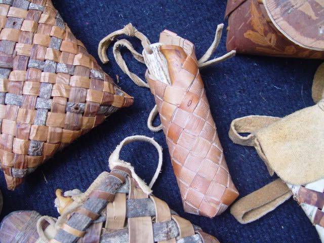 How To Make a Birch bark Pouch