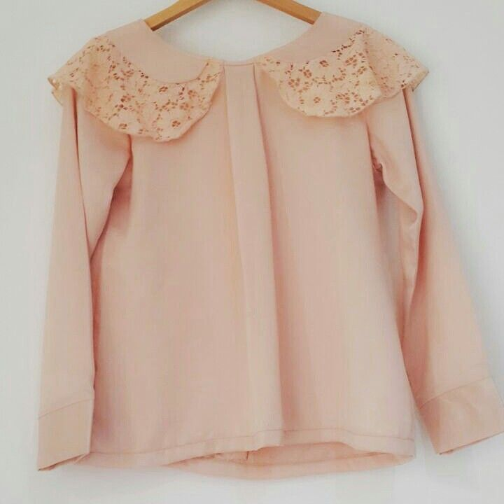 Ready for sunny day? Color your day with Lace Collar Top.