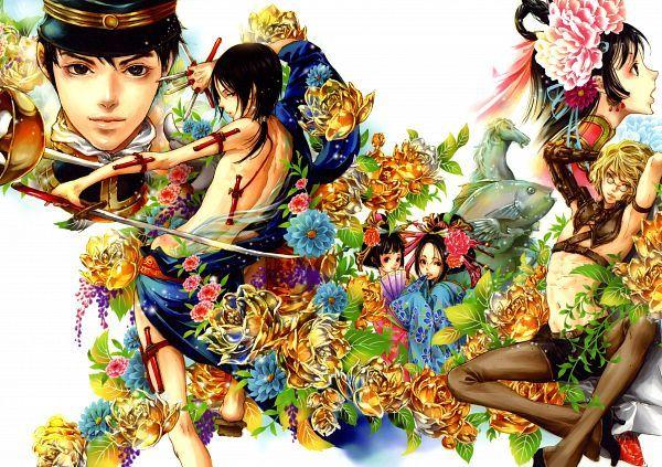 Tags: Anime, Scan, Manga Cover, Tukiji Nao, Official Art