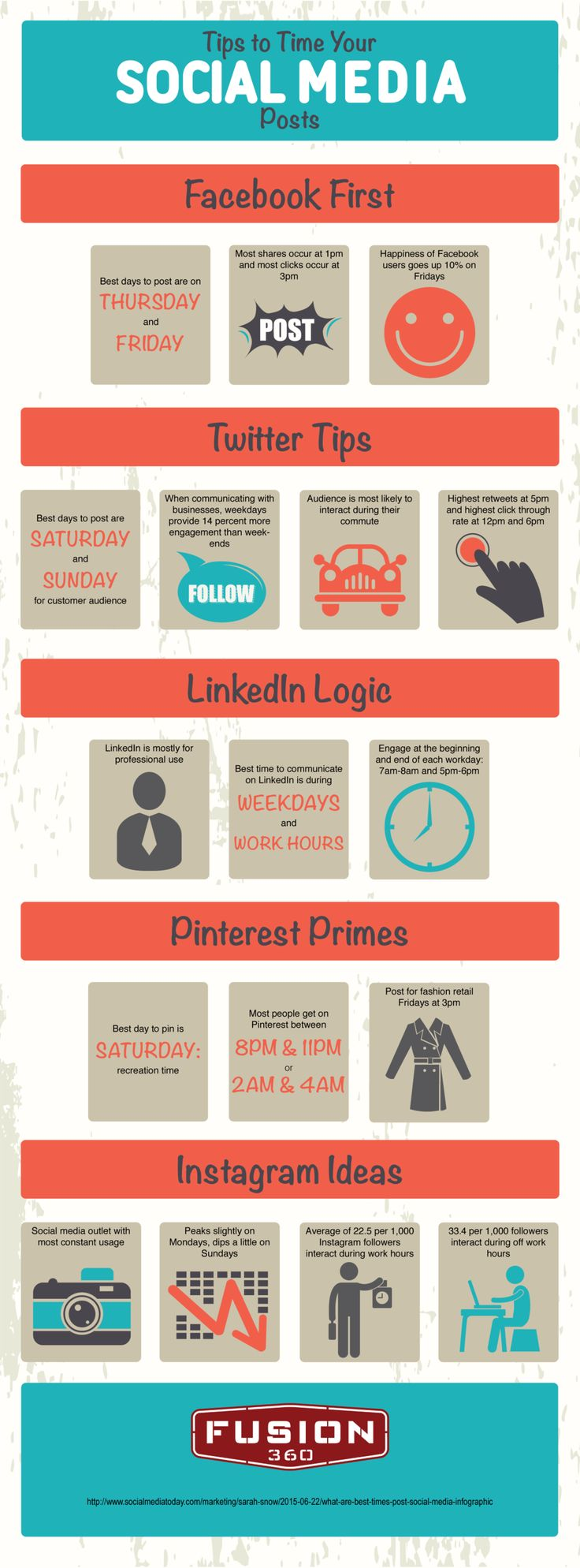 What Are the Best Times To Post on Facebook, Twitter, LinkedIn, Pinterest and Instagram? - https://blog.dashburst.com/infographic/what-are-the-best-times-to-post-on-facebook-twitter-linkedin-pinterest-and-instagram/