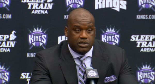 Video: Shaquille O'Neal joins the Sacramento Kings Ownership- http://getmybuzzup.com/wp-content/uploads/2013/09/shaq-600x327.jpg- http://getmybuzzup.com/video-shaquille-oneal-joins-the-sacramento-kings-ownership/-  Shaquille O'Neal joins the Sacramento Kings Ownership The Sacramento Kings announce that NBA legend and former Laker rival Shaquille O'Neal will be joining the team as a minority owner. Welcome to Shaqramento Shaq!  Let us know what you think in the com