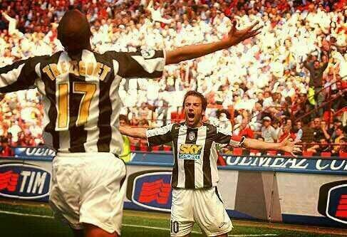 Juventus legends: Del Piero and Trezeguet