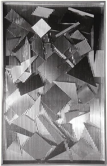 Grosses Splitter-Bild I (Metamorphose I) (1966) / by Heinz Mack