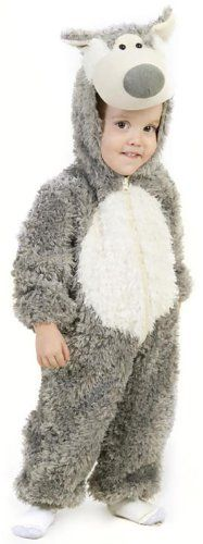 toddler boy little wolf costume 18 months diyhalloweendepotcom - Wolf Halloween Costume Kids