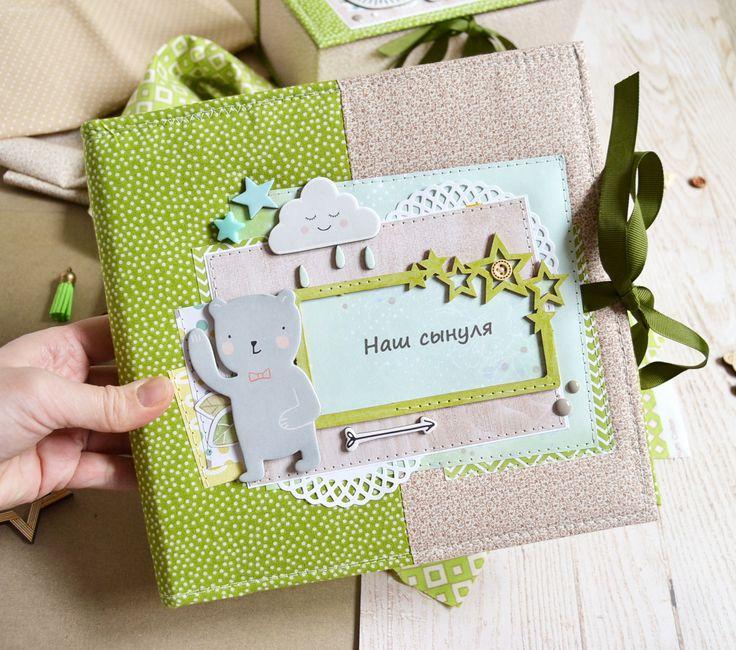Купить Фотоальбом для новорожденного малыша( альбом для мальчика) - фотоальбом, фотоальбом купить москва