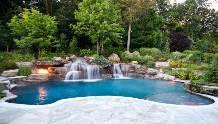 160 ótimas fotos de piscina de luxo no jardim   – Gartengestaltung Ideen