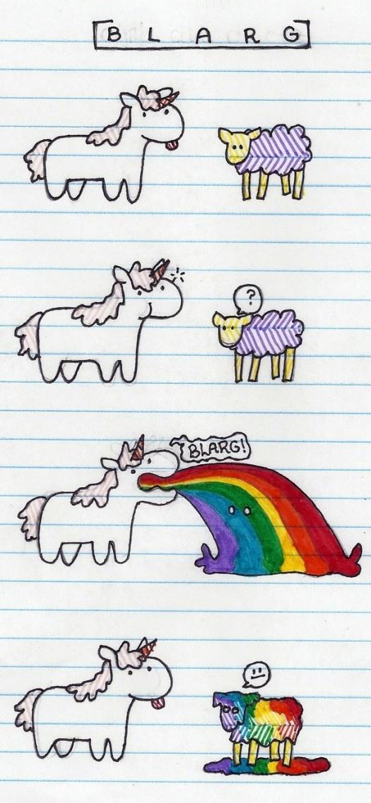 Tye dye sheep!