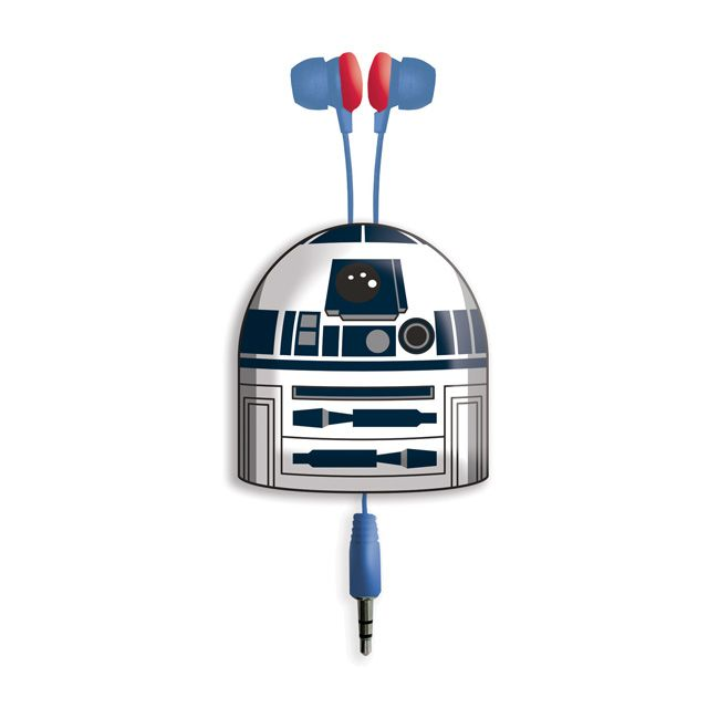 Star Wars R2D2 Retractable Earphones