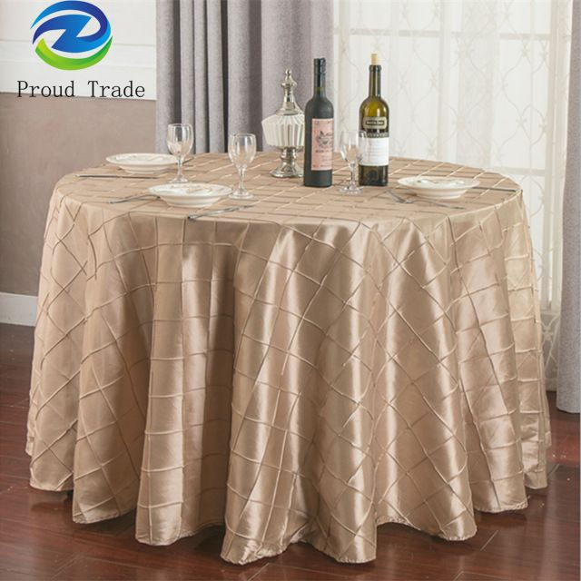 Source Wholesale Durable Table Cloth For Wedding Hotel Decoration