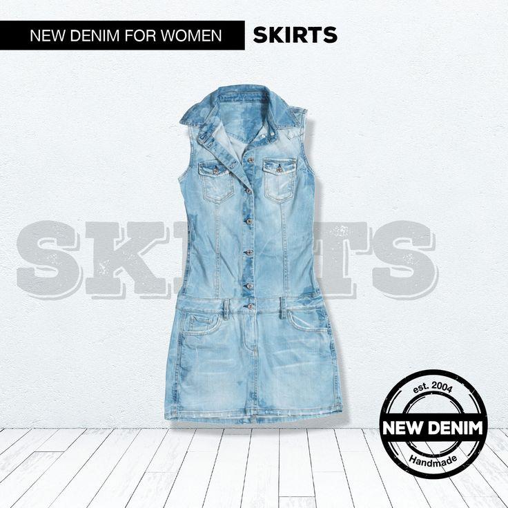 Innovative denim fabrics with classic 5 - pocket details.