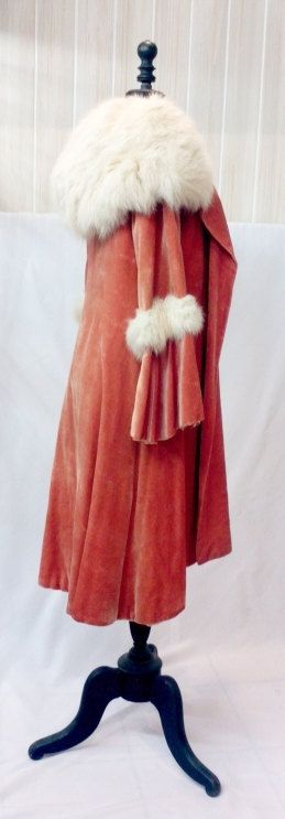 MAGNIFICIENT 1920s velvet silk coat with big by Beautiful0Things, $430.00