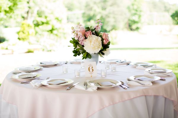 simple round tables | Robyn Van Dyke #wedding